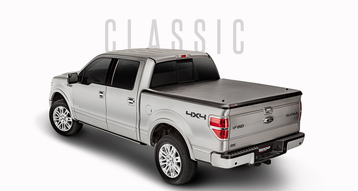 UnderCover Classic Truck Bed Cover | One-Piece Truck Bed Cover